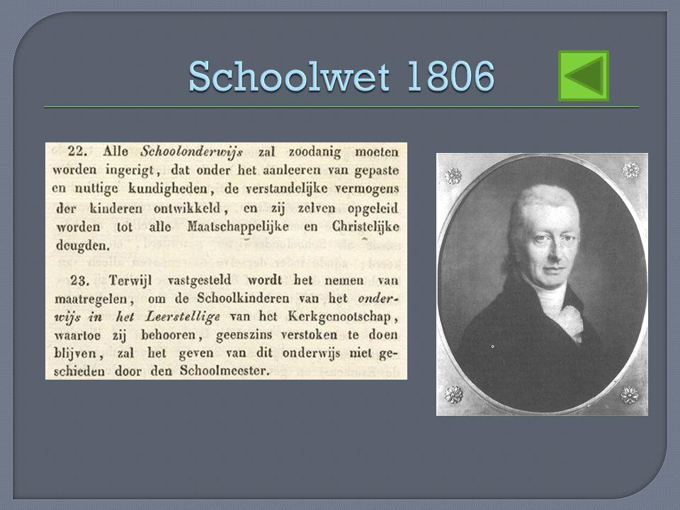 Schoolwet 1806