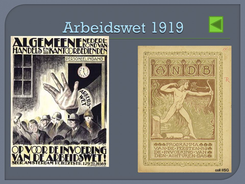Arbeidswet 1919