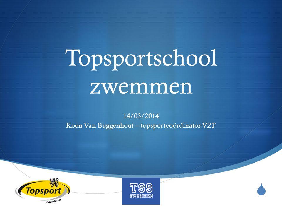 Topsportschool zwemmen
