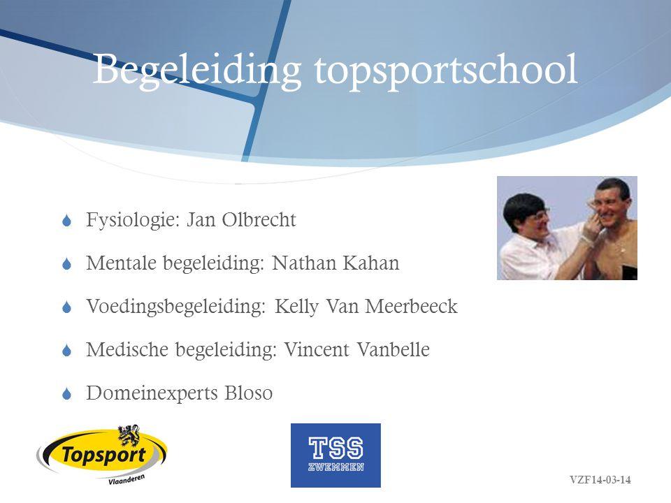 Begeleiding topsportschool