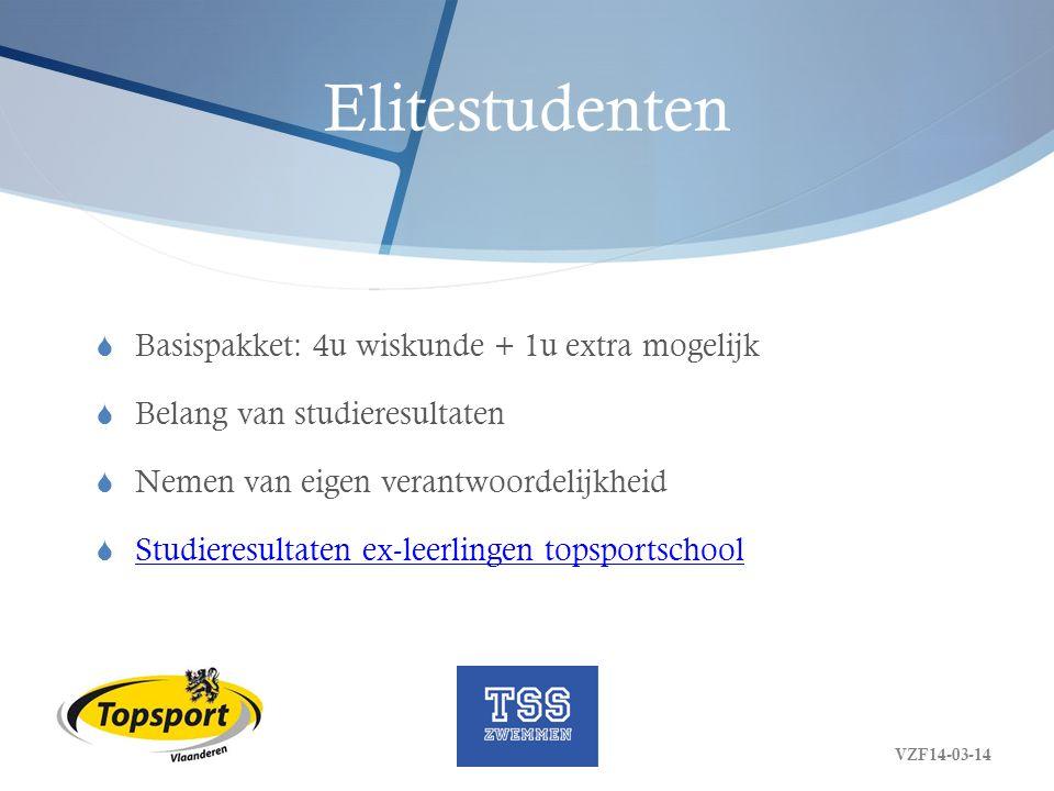 Elitestudenten Basispakket: 4u wiskunde + 1u extra mogelijk