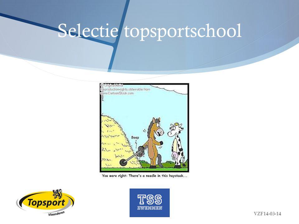 Selectie topsportschool