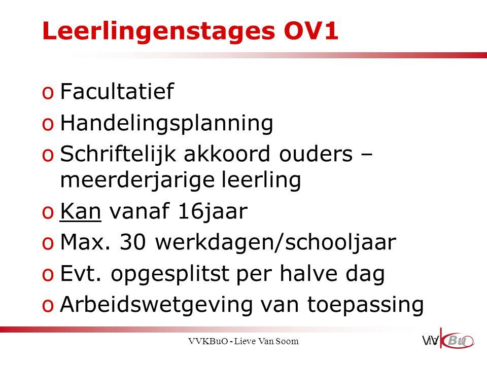 Leerlingenstages OV1 Facultatief Handelingsplanning