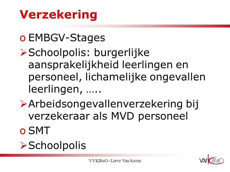 Verzekering EMBGV-Stages