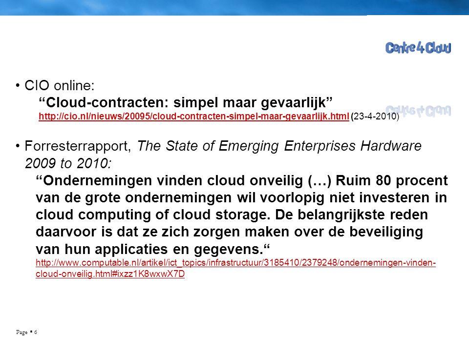 Cloud-contracten: simpel maar gevaarlijk