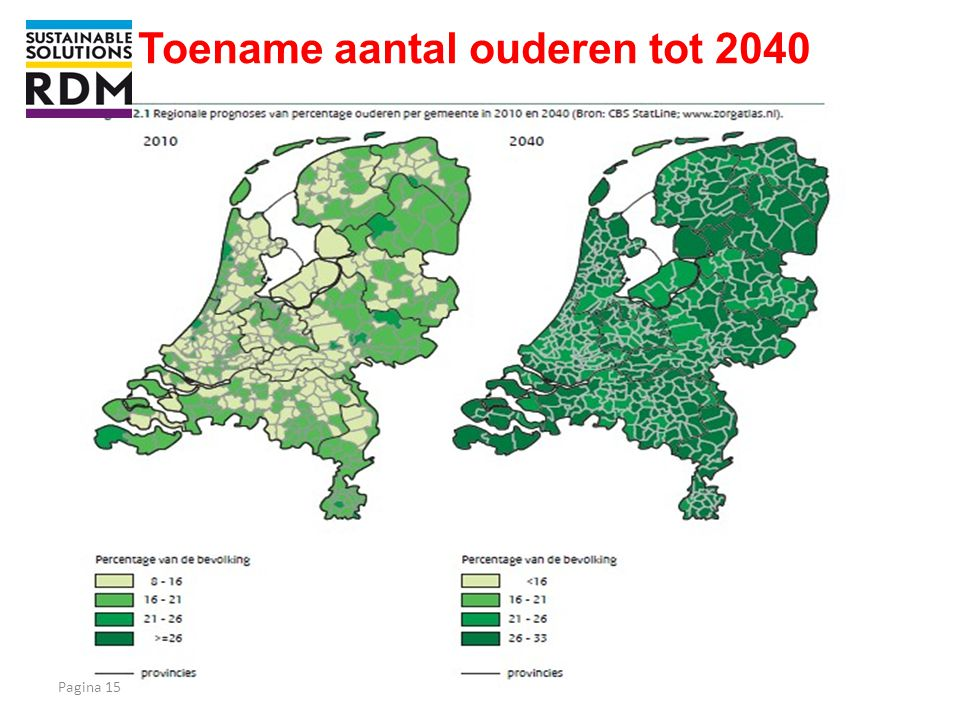 Toename aantal ouderen tot 2040