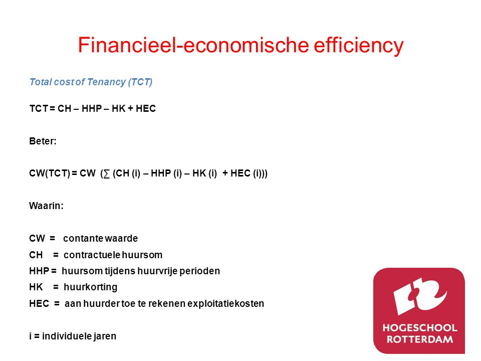 Financieel-economische efficiency