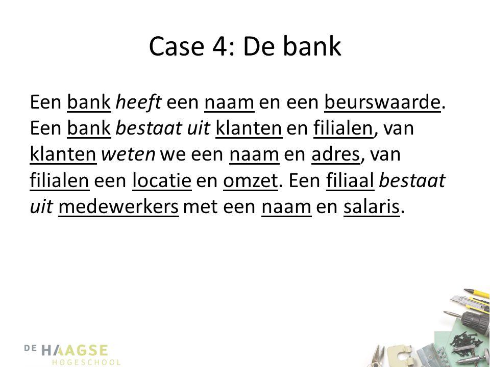 Case 4: De bank