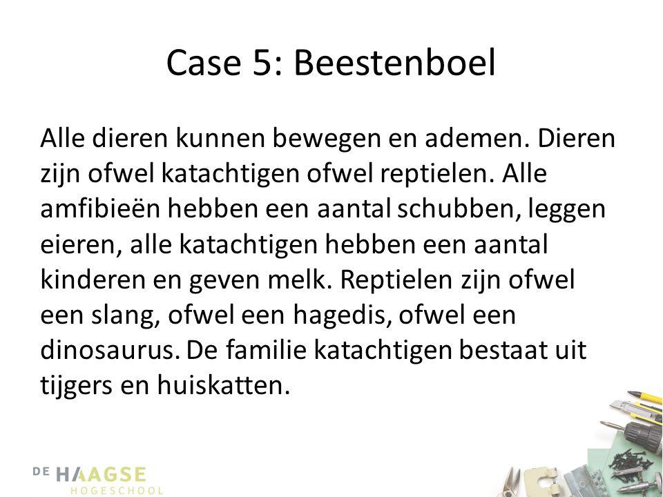 Case 5: Beestenboel