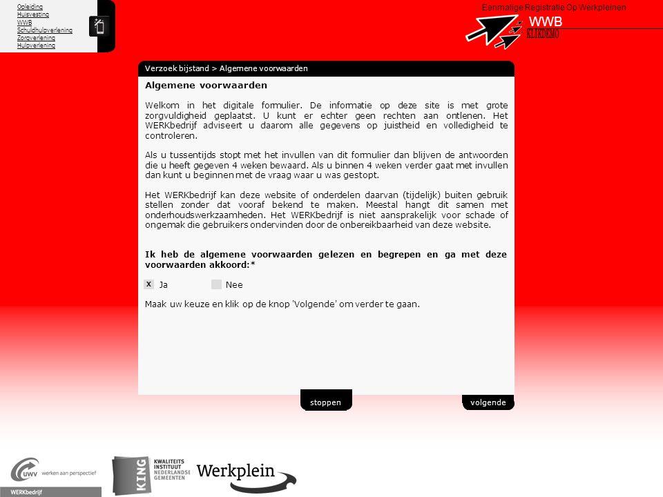 WWB X KLIKDEMO 36 Algemene voorwaarden