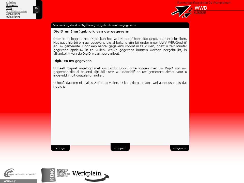 WWB X KLIKDEMO 37 DigiD en (her)gebruik van uw gegevens