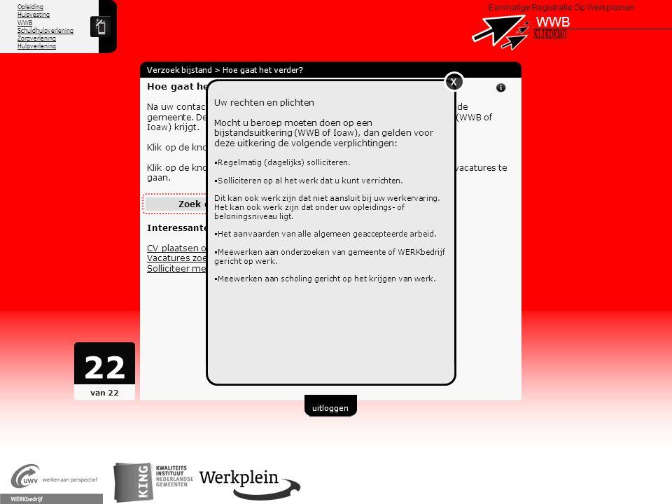 22 WWB X KLIKDEMO X 66 Hoe gaat het verder