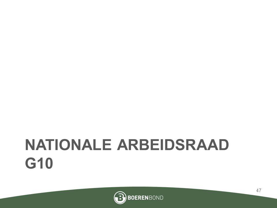 Nationale arbeidsraad G10