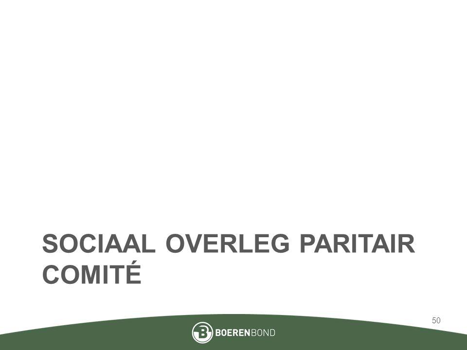 Sociaal overleg paritair comité