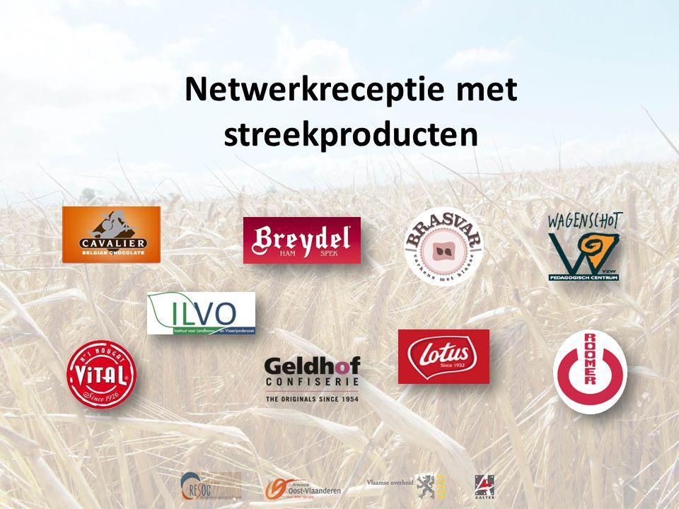 Netwerkreceptie met streekproducten