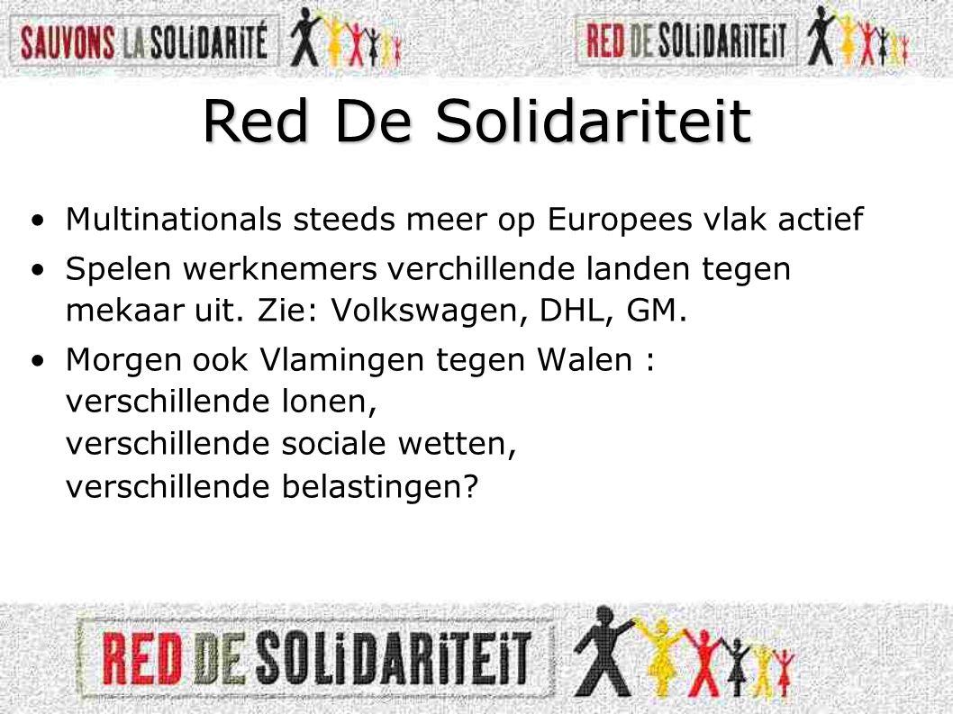 Red De Solidariteit Multinationals steeds meer op Europees vlak actief