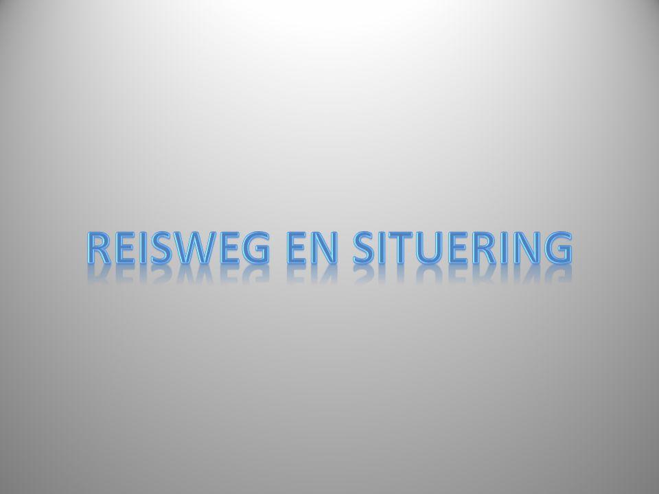 REISWEG EN SITUERING
