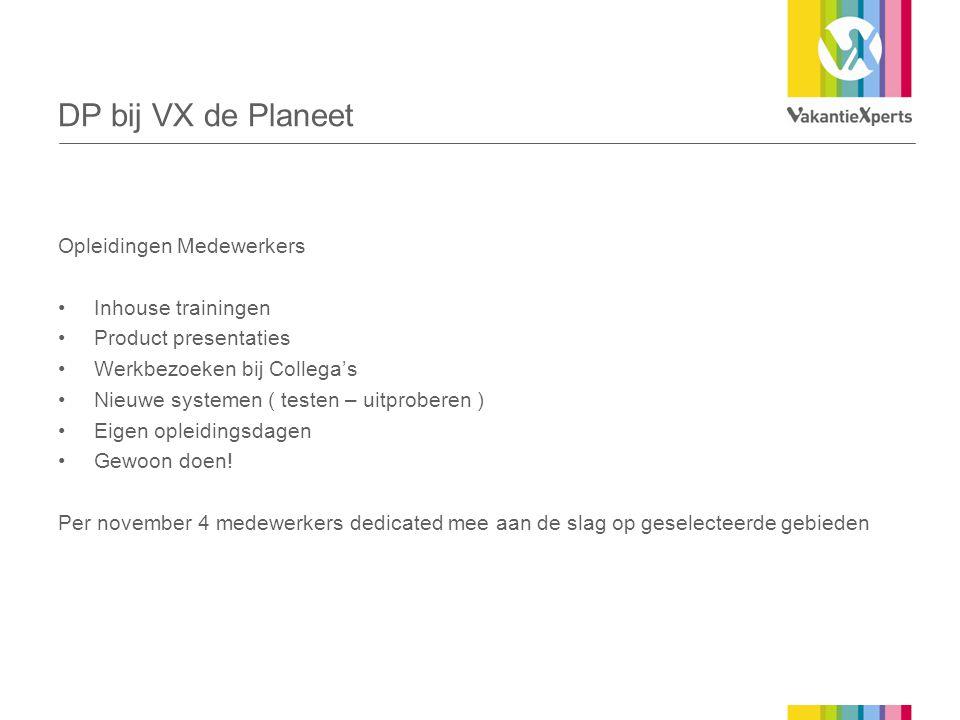 DP bij VX de Planeet Opleidingen Medewerkers Inhouse trainingen