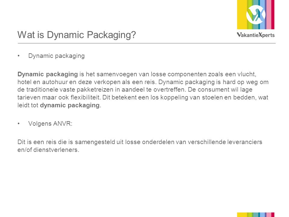 Wat is Dynamic Packaging