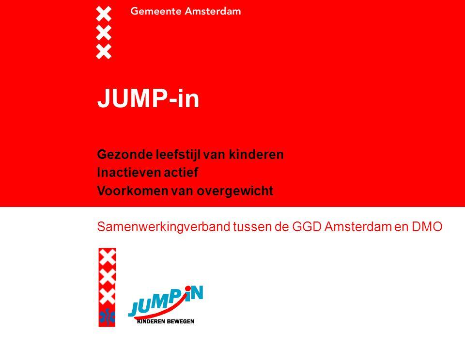 JUMP-in Gezonde leefstijl van kinderen Inactieven actief