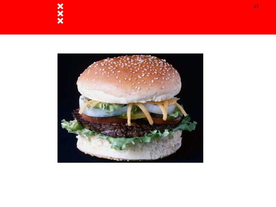 Hamburgers zijn niet perse slecht