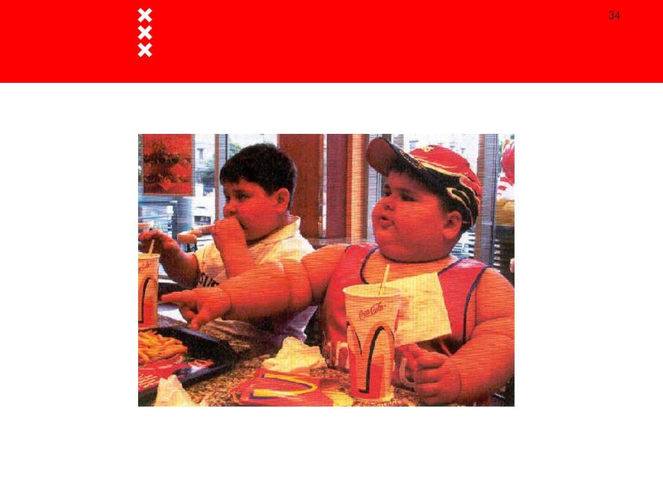 Ongeveer 25 jaar geleden kende Nederland nog nauwelijks overgewicht