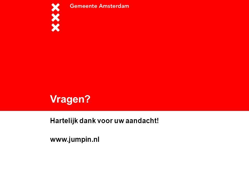 Hartelijk dank voor uw aandacht! www.jumpin.nl