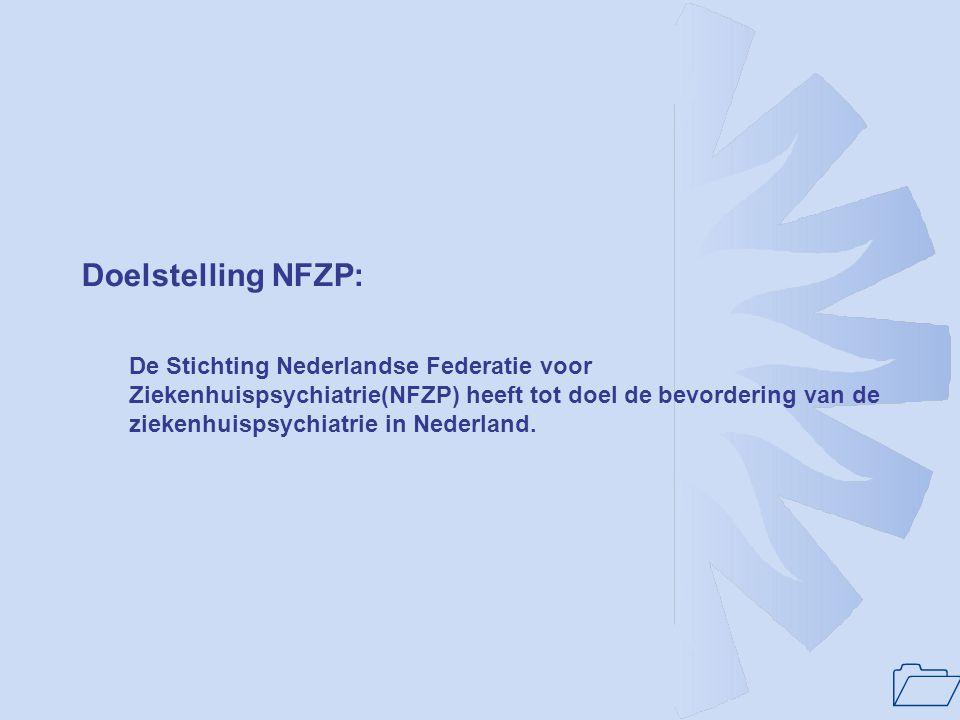 Doelstelling NFZP: