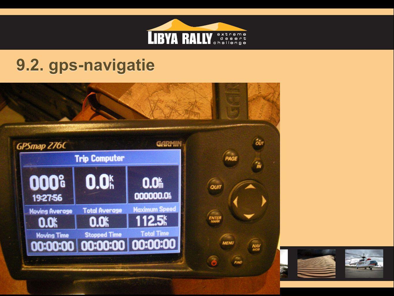 9.2. gps-navigatie