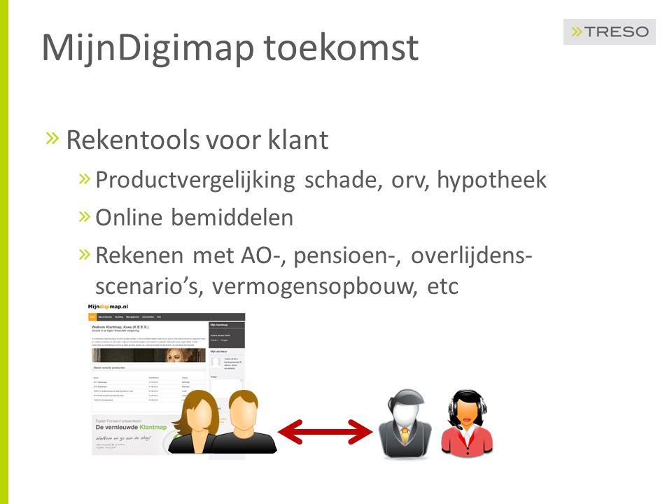 MijnDigimap toekomst Rekentools voor klant