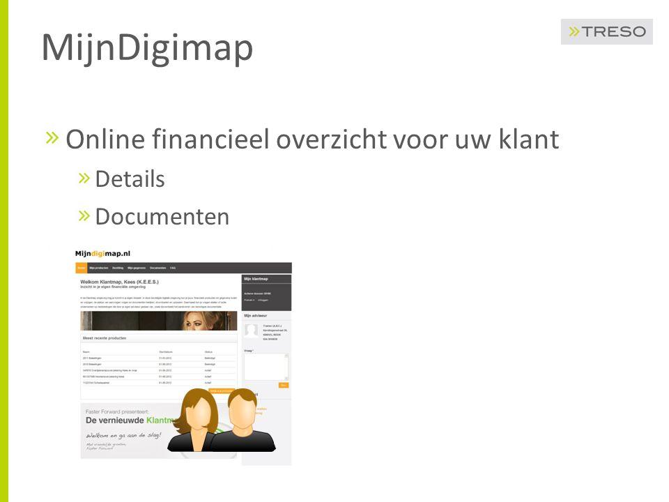 MijnDigimap Online financieel overzicht voor uw klant Details