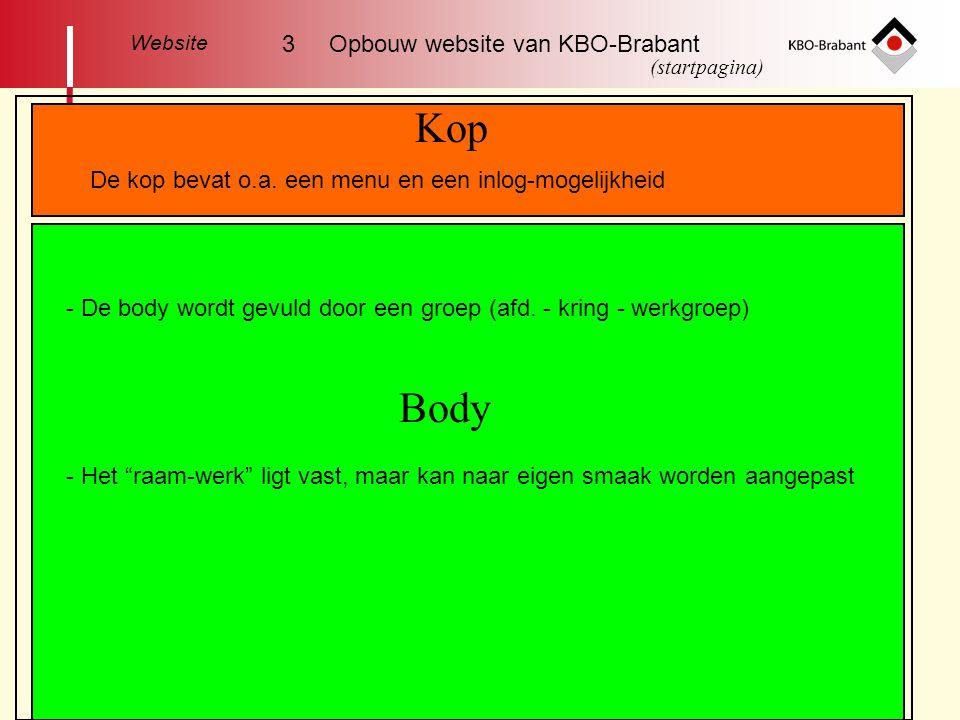 Kop Body 3 Opbouw website van KBO-Brabant