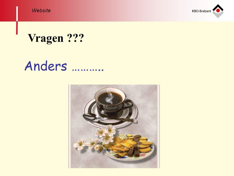 Website Vragen Anders ………..
