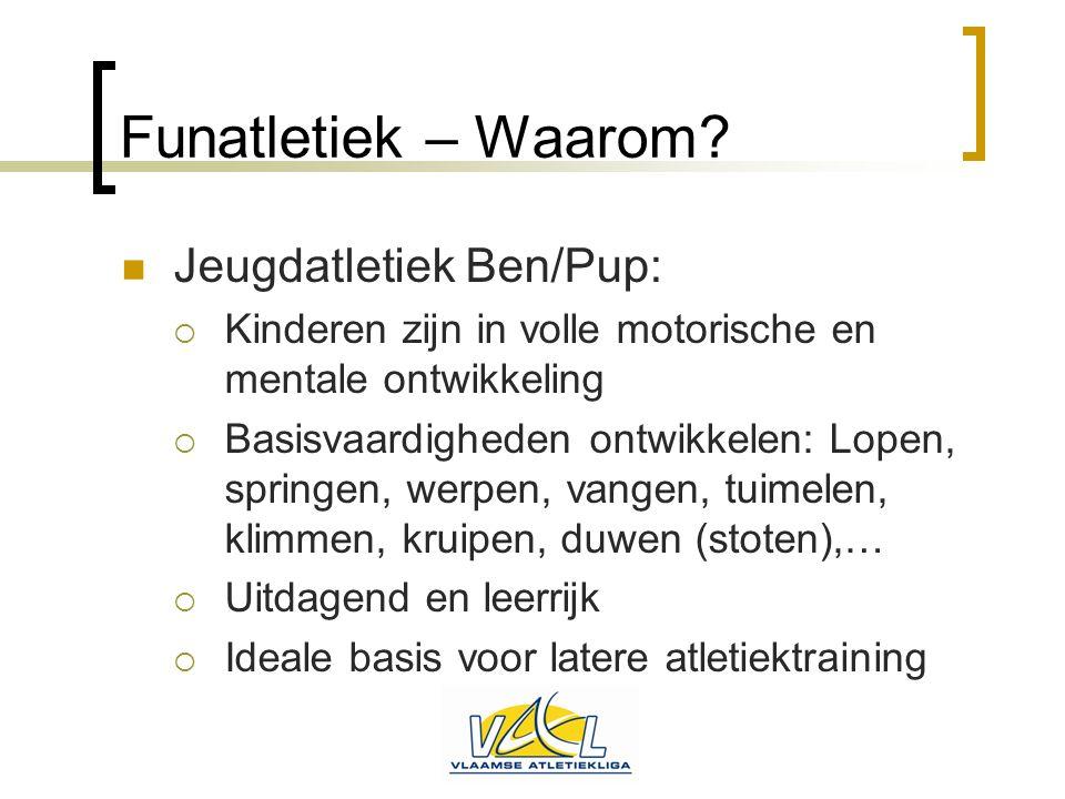 Funatletiek – Waarom Jeugdatletiek Ben/Pup: