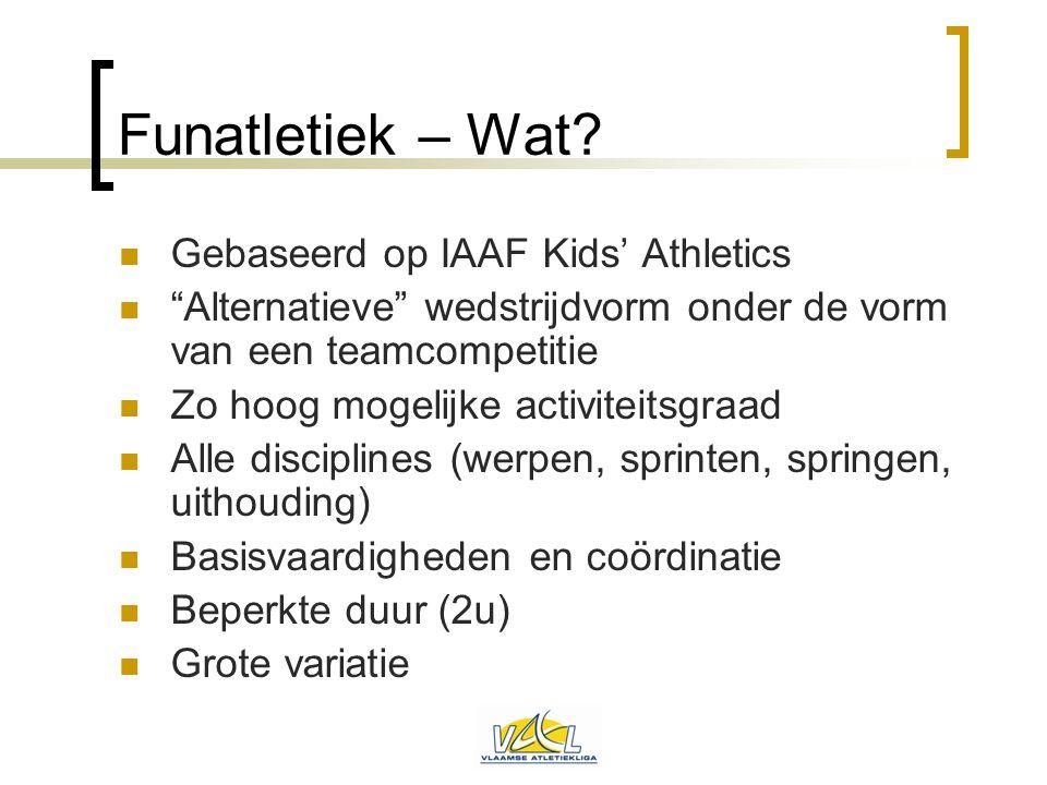 Funatletiek – Wat Gebaseerd op IAAF Kids' Athletics