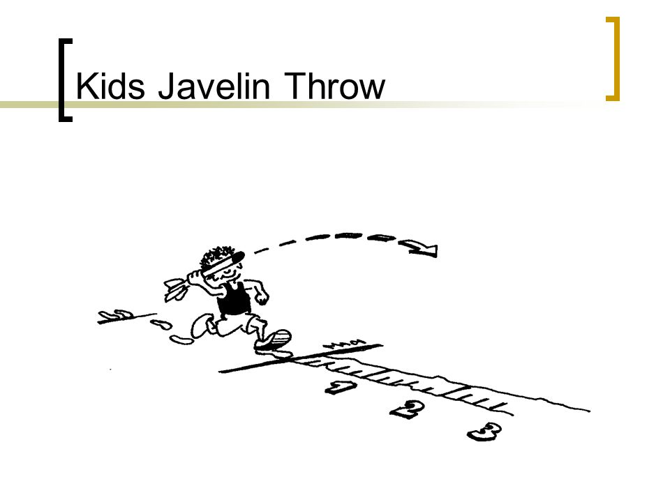 Kids Javelin Throw