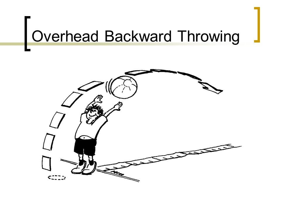 Overhead Backward Throwing