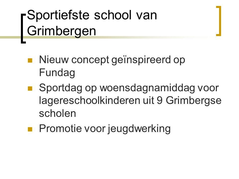 Sportiefste school van Grimbergen