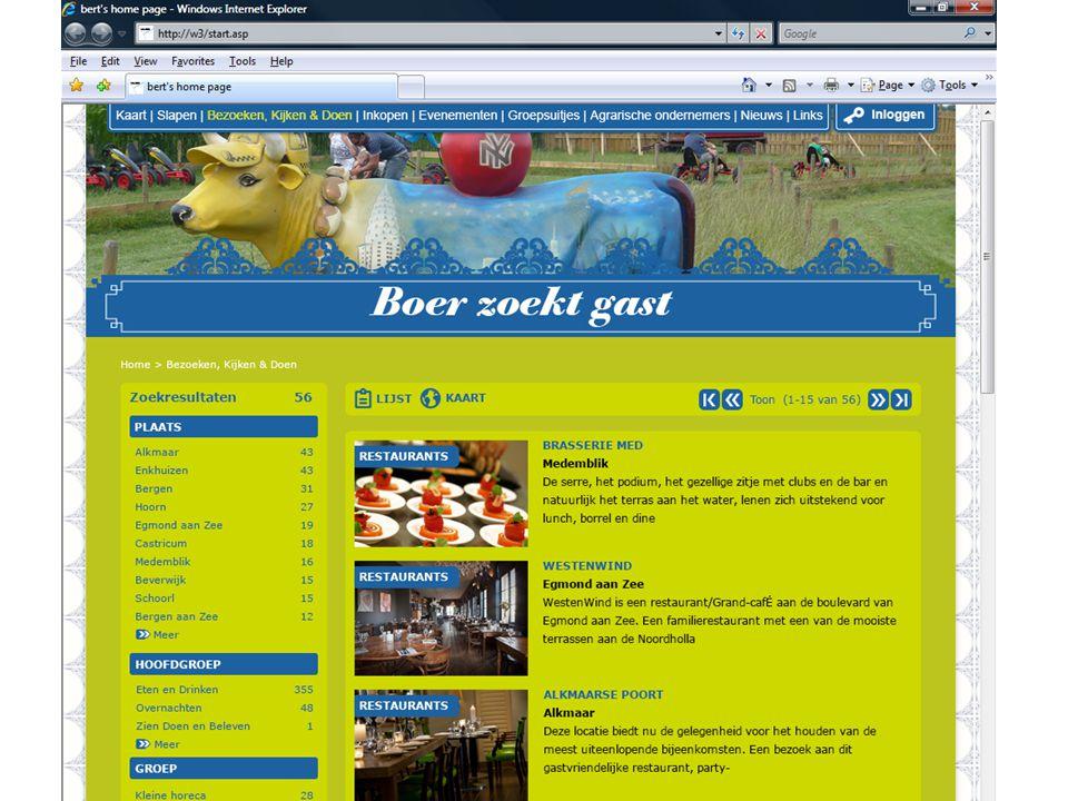 Aanpassingen Boerzoektgast.nl