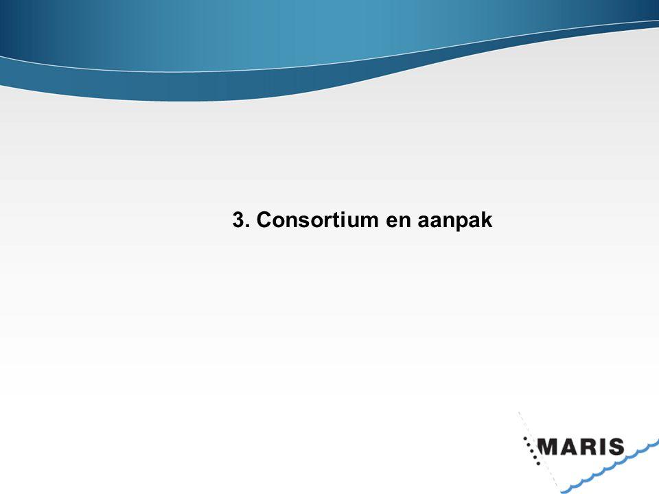 3. Consortium en aanpak
