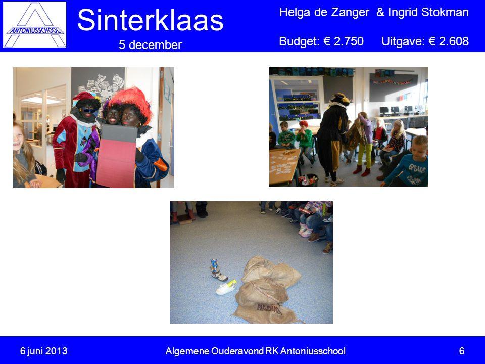 6 juni 2013 Algemene Ouderavond RK Antoniusschool 6