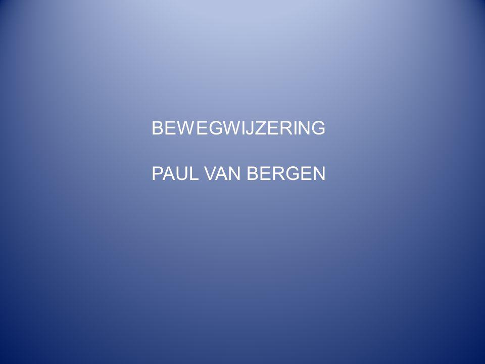 BEWEGWIJZERING PAUL VAN BERGEN