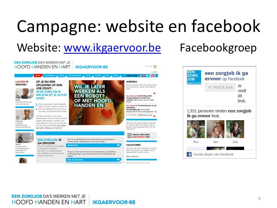 Campagne: website en facebook