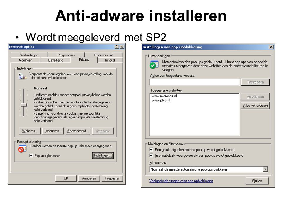 Anti-adware installeren