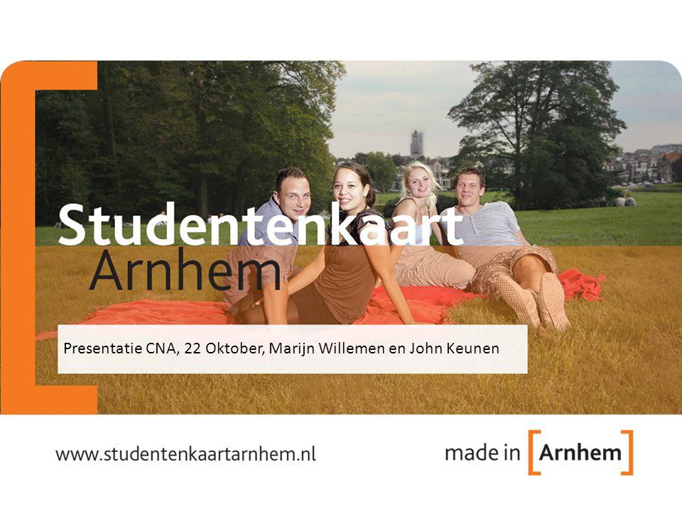 Presentatie CNA, 22 Oktober, Marijn Willemen en John Keunen