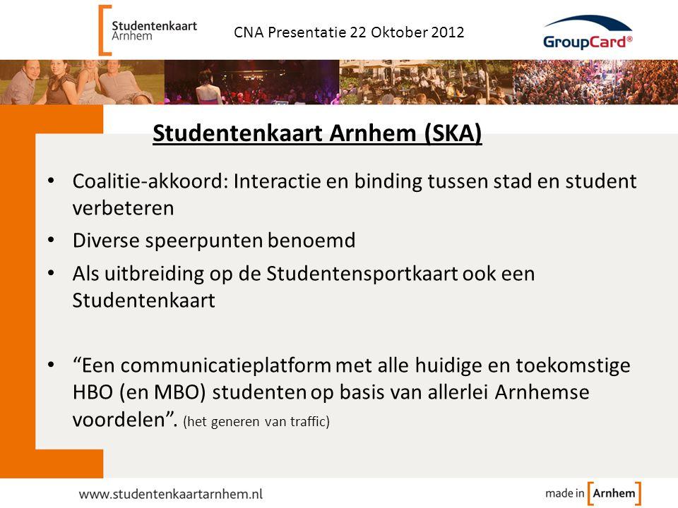Studentenkaart Arnhem (SKA)