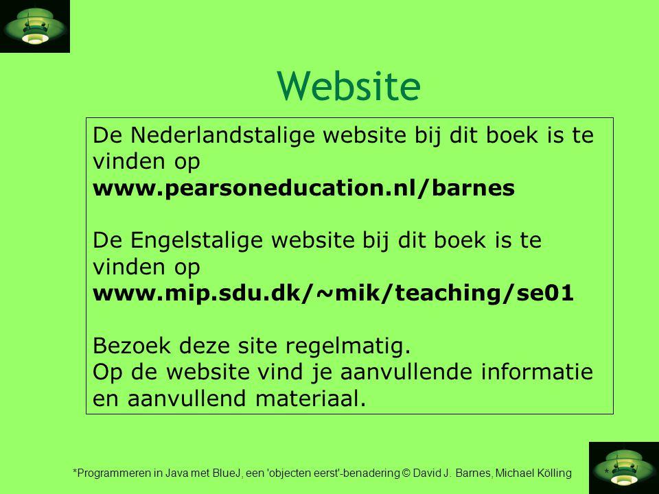 Website De Nederlandstalige website bij dit boek is te vinden op