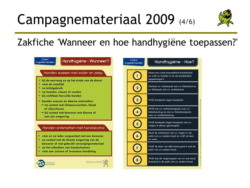 Campagnemateriaal 2009 (4/6)