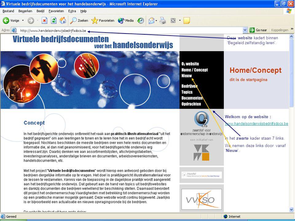 Home/Concept Deze website kadert binnen 'Begeleid zelfstandig leren'.