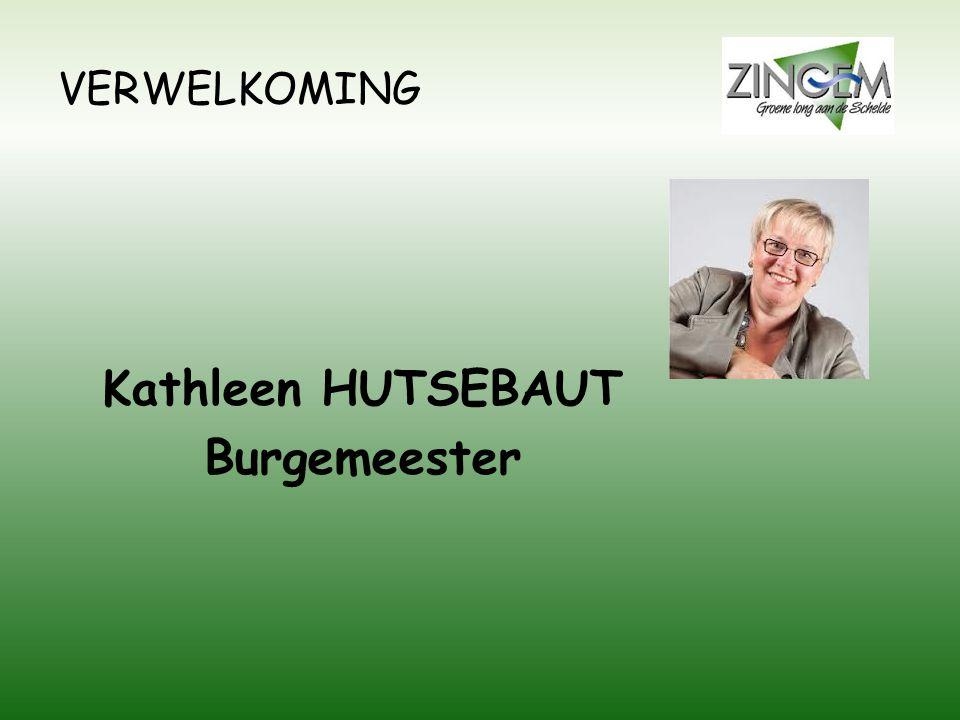Kathleen HUTSEBAUT Burgemeester